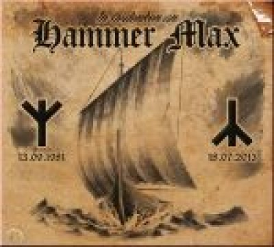 IN GEDENKEN AN HAMMER MAX - SAMPLER
