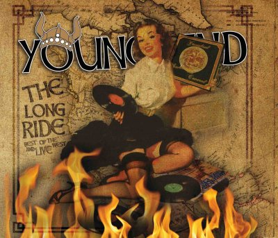 YOUNGLAND - THE LONG RIDE + LIVE - DOPPELD CD  - DIGIPACK