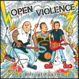 OPEN VIOLENCE - ROCK N ROLL BLITZKRIEG - LP